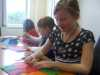 we are making felt applique cushions
