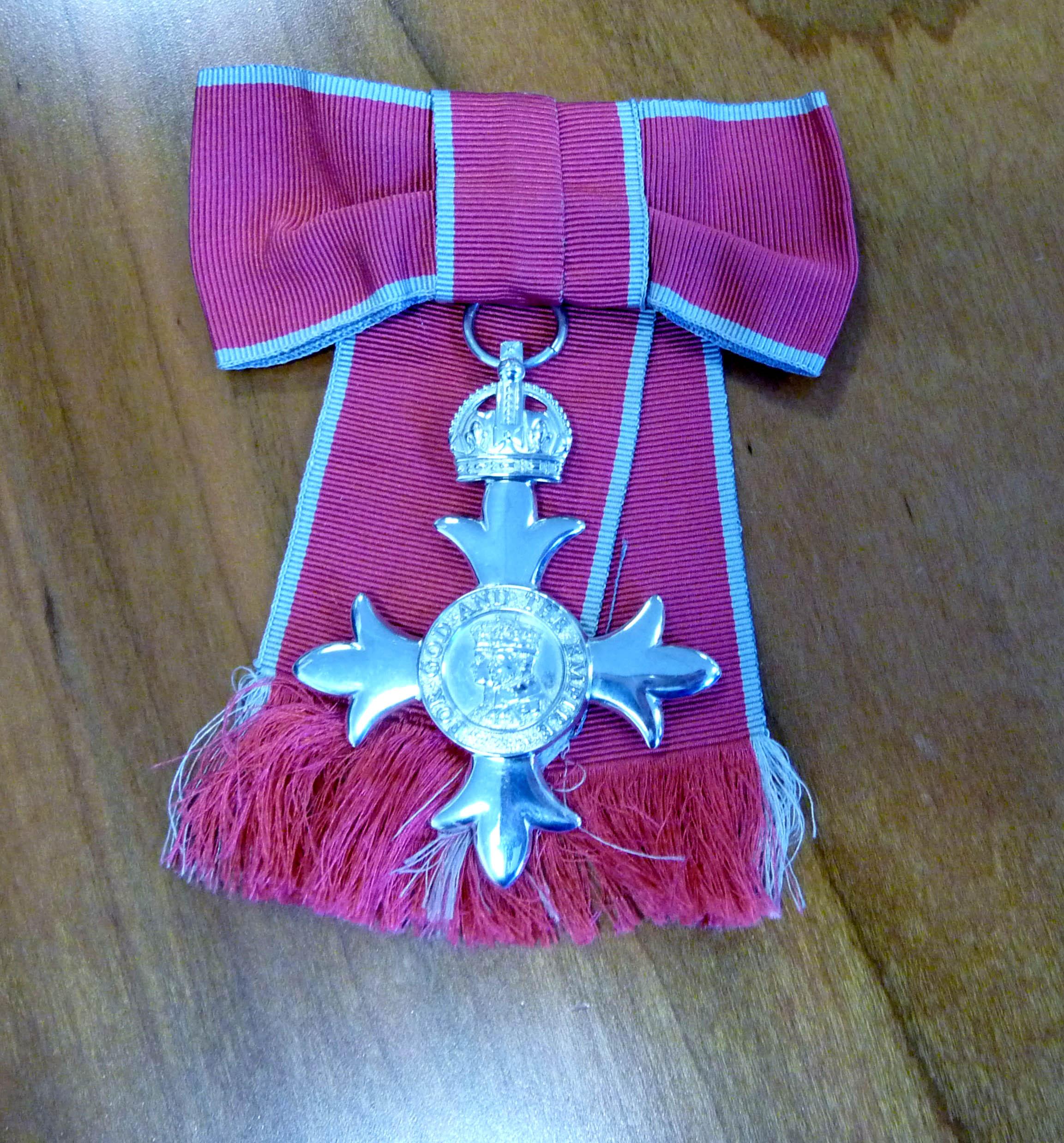 Ruby's MBE Award