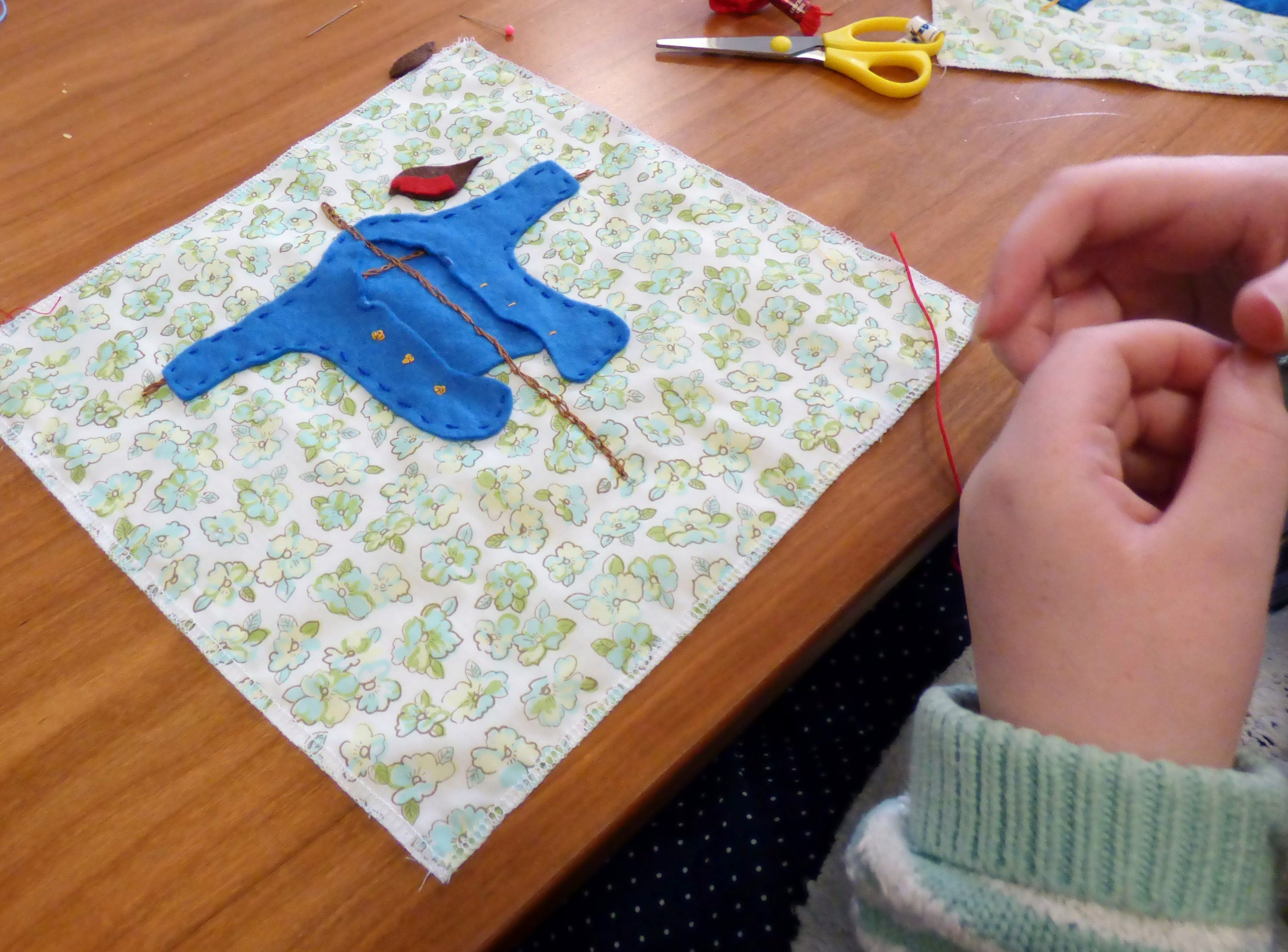 Peter Rabbit's jacket and YE Group meeting September 2016