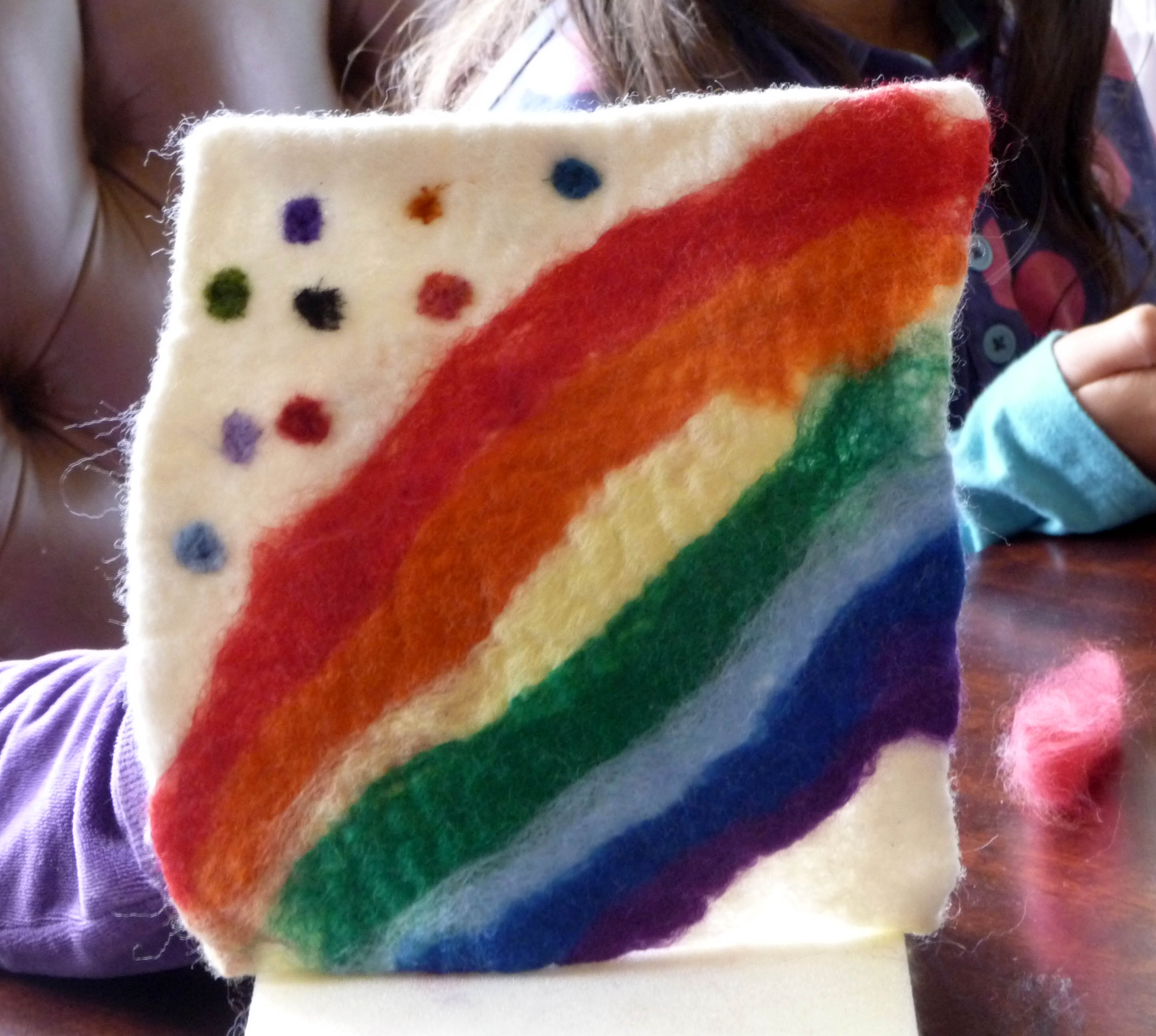 felt picture made by YE at NW Regional Day 2014