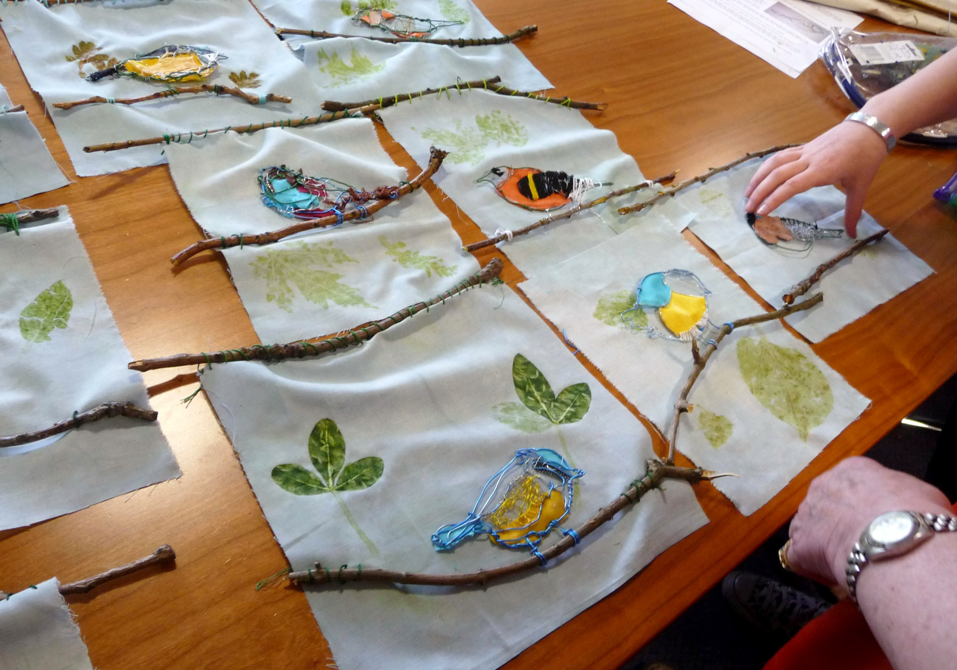 some of our completed pictures at YE workshop June 2014