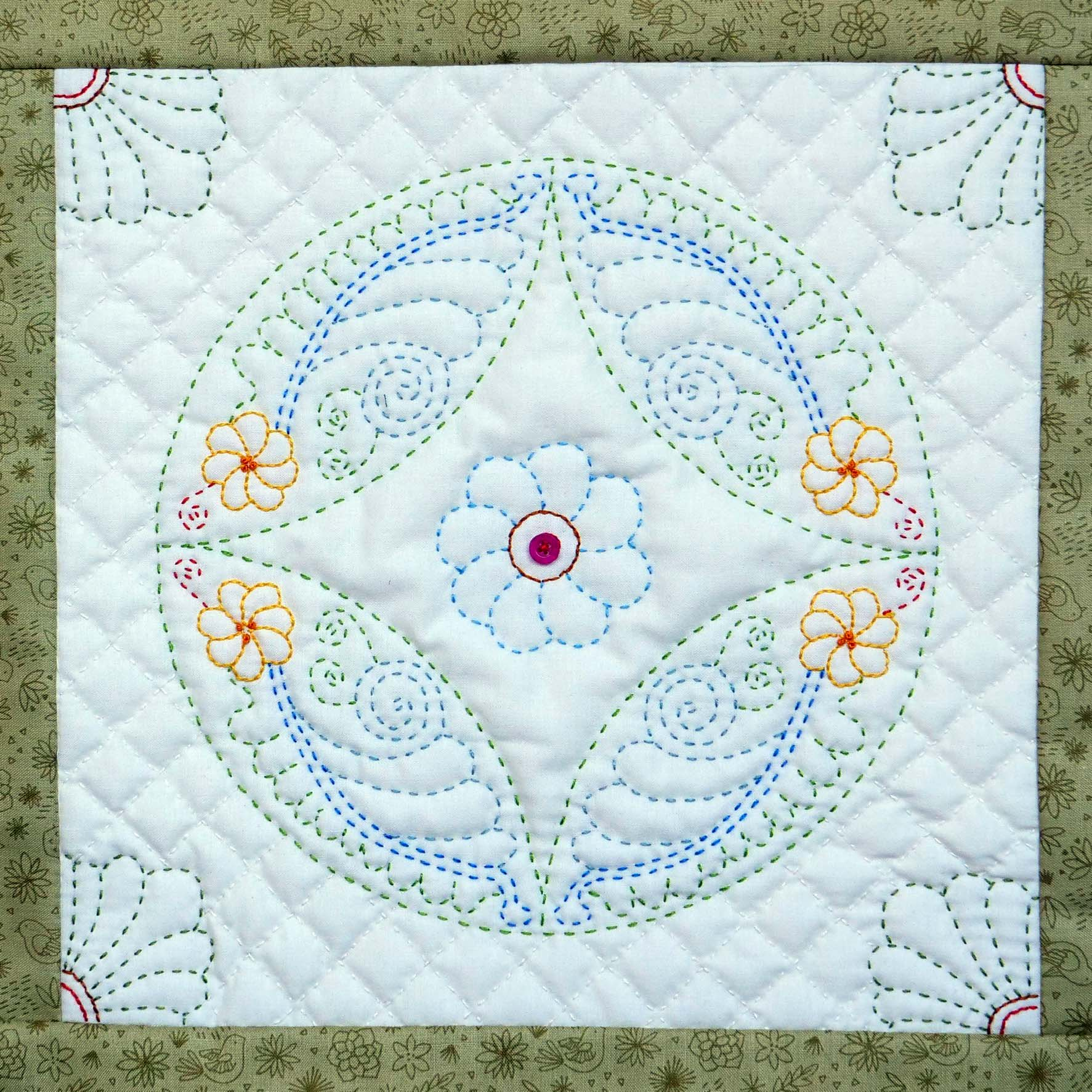 quilting by Helen Barnes