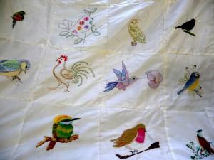 """Sreepur Quilt 2014 """"Birds"""""""