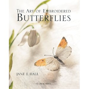 Art of Embroidery - Butterflies by Jane E. Hall