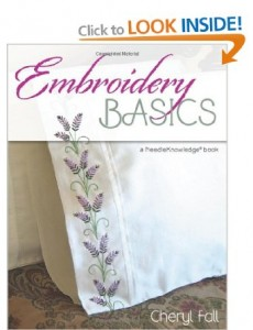 embroidery basics by Cheryl Fall_