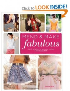 make and mend fabulous by denise wild_