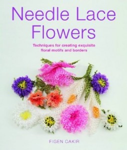 needle lace flowers by Figen Cakir_