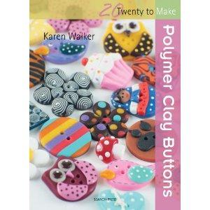 polymer clay buttons by karen walker