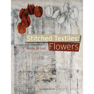 stitched textile flowers by bobby britnell
