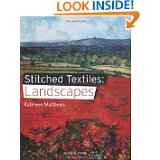 stitched textiles Landscapes by Kathleen Matthews_
