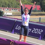 Dame Sarah Storey wins a Gold Medal at 2012 Paralympic Games