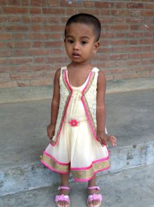a child of Sreepur village