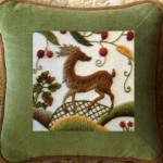 Mellerstain Stag cushion