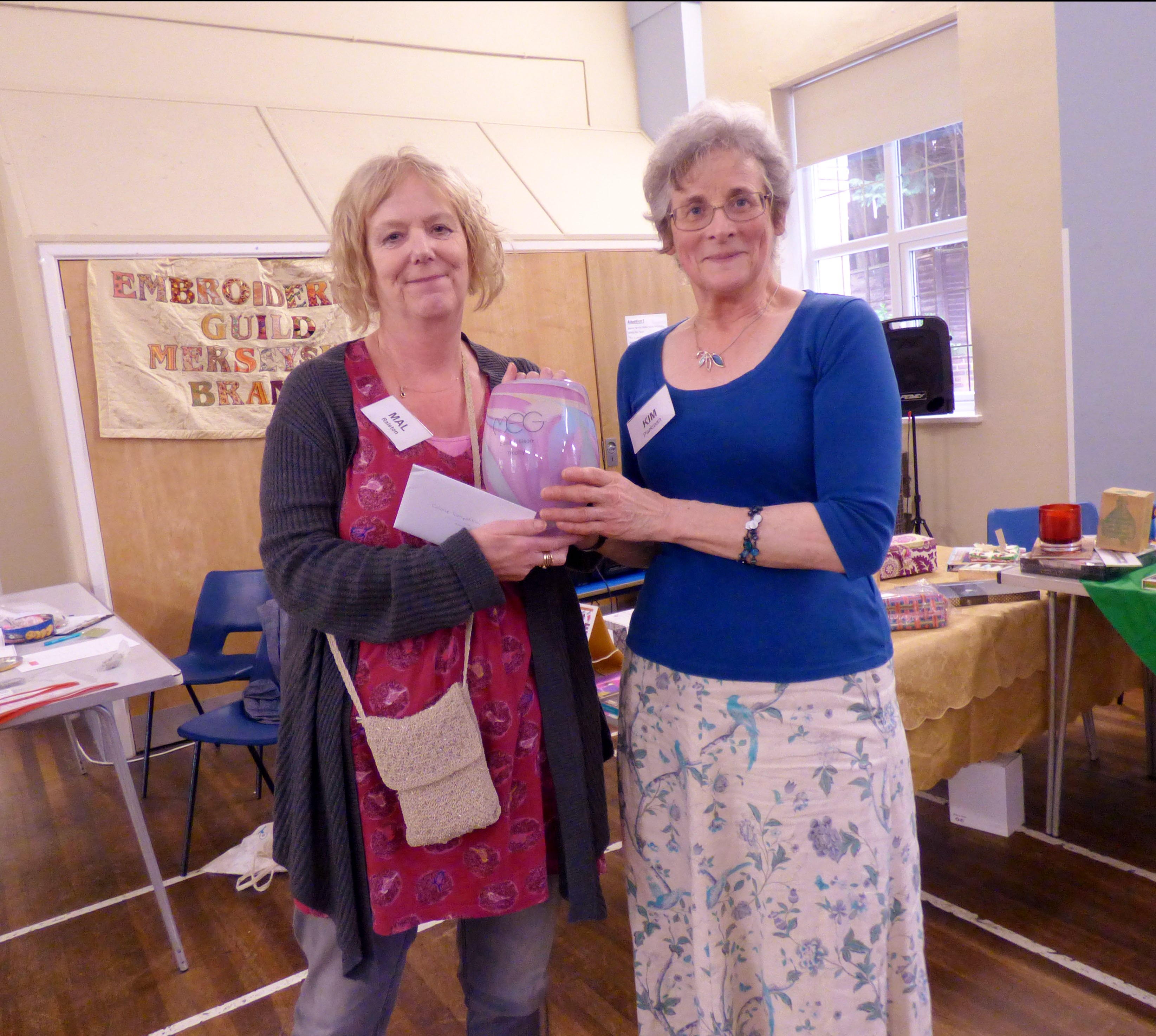 Colour competition winners - Merseyside Embroiderers