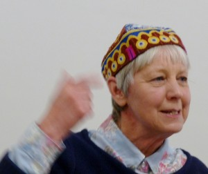 Workshops and Talks- Sue Boardman and her cap inspired by Birkenhead Park