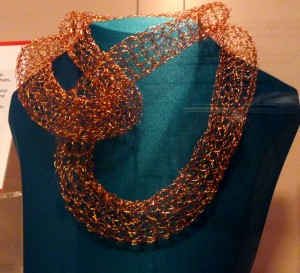 NECKLACE by Karen Scott, 2014, copper wire