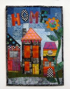 ALPHABET SOUP by Elaine Maunder  from Voyage Art Textiles
