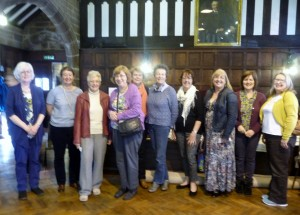we welcomed a group of ladies from Isle of Man EG to our 2015 Summer Tea Party, (pictured with Elsie and Gill who looked after them during their day in Liverpool)