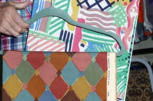 vintage fabric collected by Liz and Alun Evans of Retropattern
