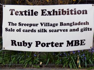 Ruby Porter advertising sign