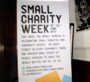 poster for Small Charities Week 2017