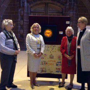 Rubina Porter MBE with Liverpool Lord Mayor Cllr Christine Banks