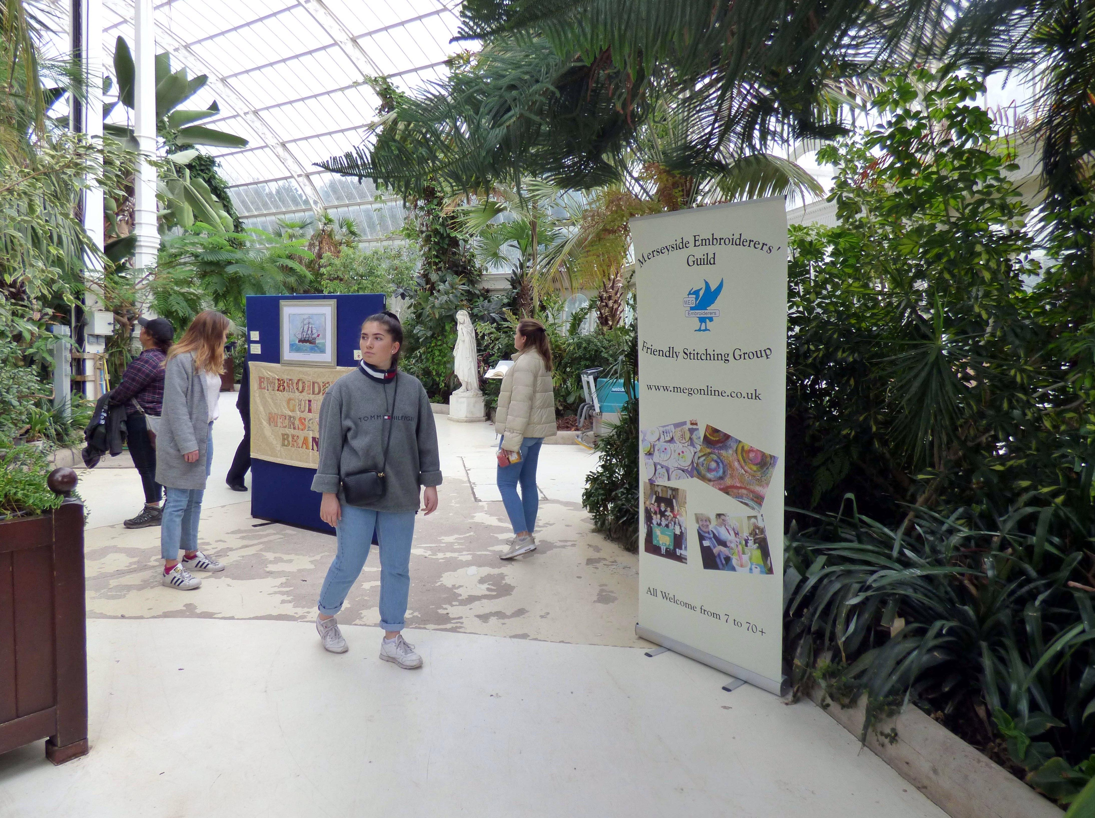 Endeavour exhibition at Sefton Park Palm House 2019