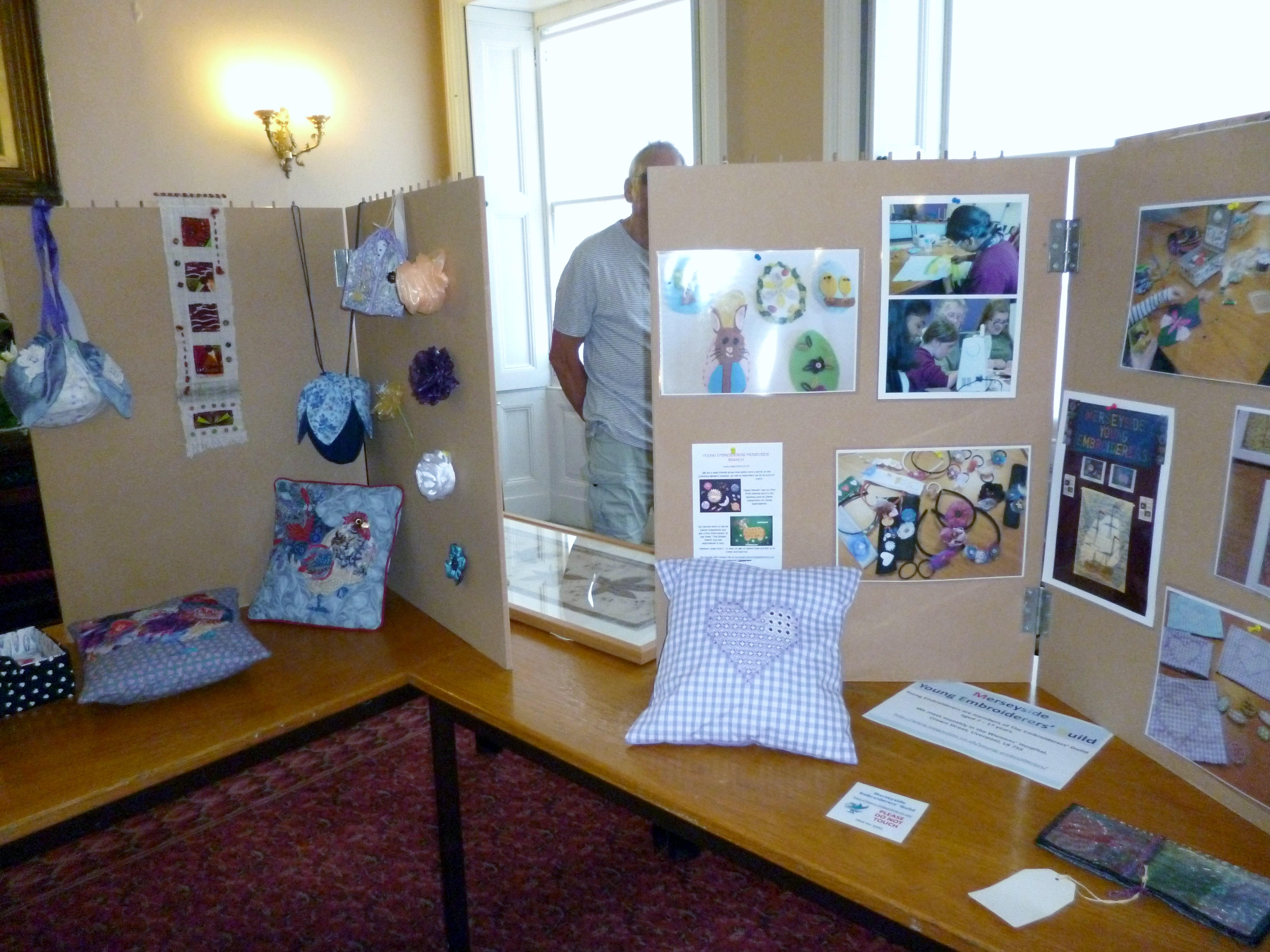 MEG display at Croxteth Hall Open Day 2019