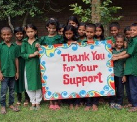 Thank you from all at Sreepur Orphanage
