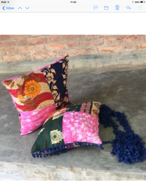 new cushion covers made in Sreepur, Bangladesh 2020