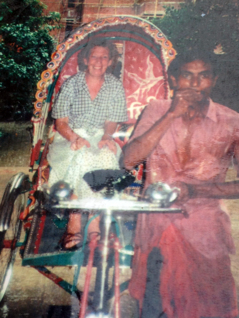 Ruby's first visit to Sreepur Aug 1990