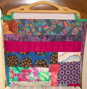 Tote bag with handles by Gill Roberts