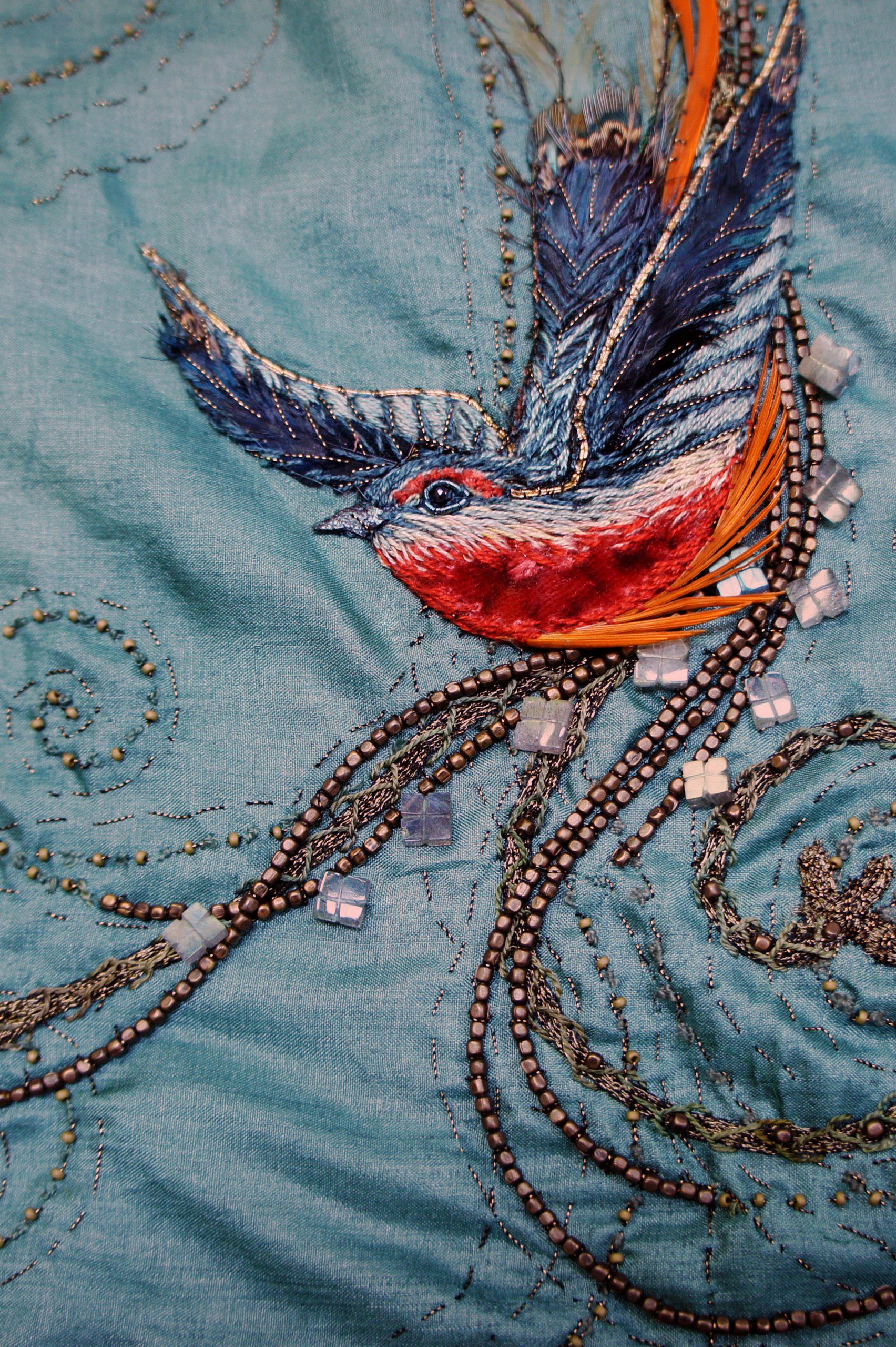 CERSEI-BLUE-BIRD-EMBROIDERY-CLOSE-UP-MICHELE-CARRAGHER-